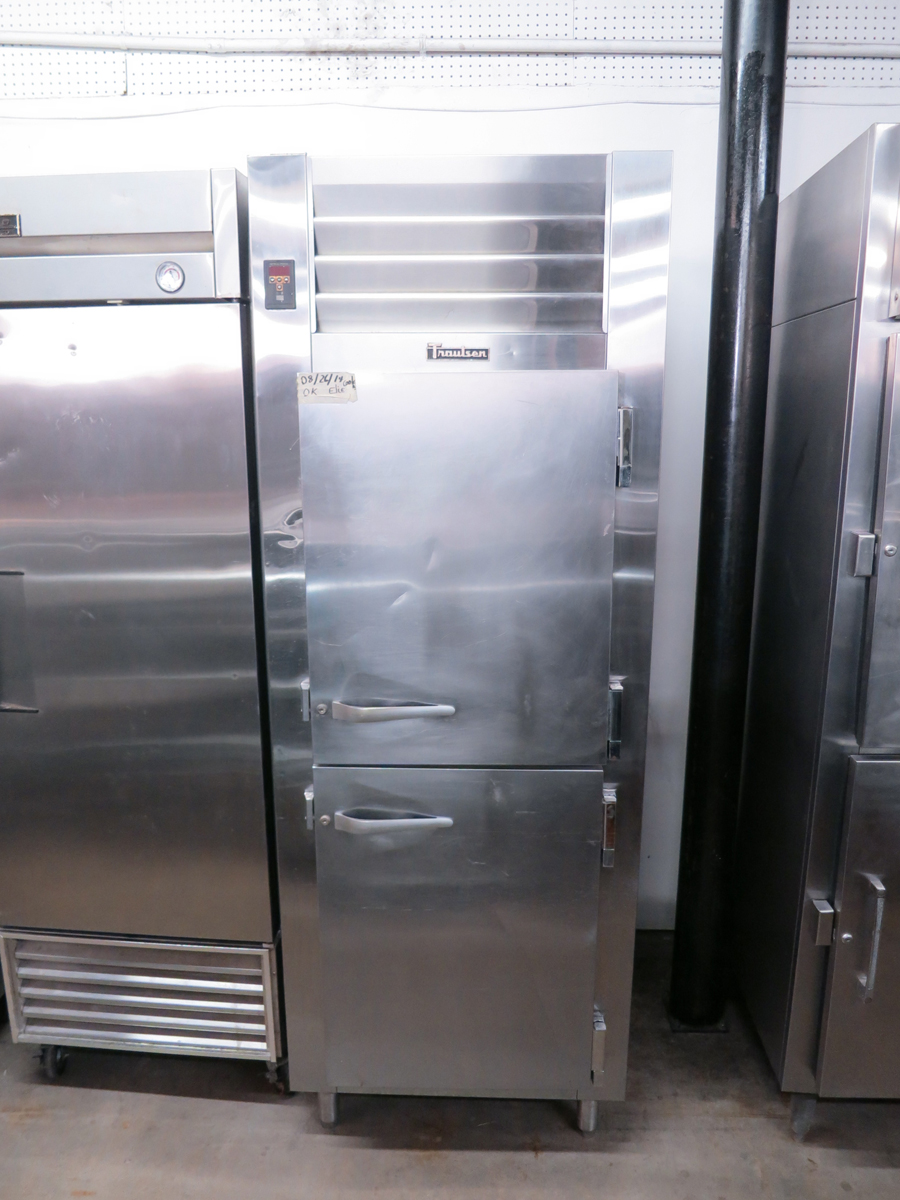 Used Traulsen Adt132w Hhs Freezer Cooler Combo