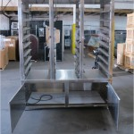 Custom – Bakery Bagel Display Holding Cabinet Stainless Steel