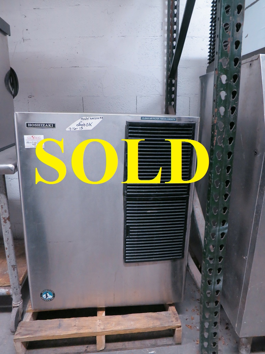 Used Ice Makers Hoshizaki Km 900mah Commercial Ice Maker