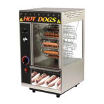 STAR 174CBA Hot Dog Broiler, Rotisserie