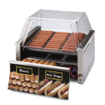 STAR 30CBD Hot Dog Grill, Roller