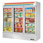 TRUE GDM-72F-HC~TSL01 Freezer Merchandiser