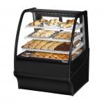 TRUE TDM-DC-36-GE/GE-B-W Non-Refrigerated Bakery Display Case