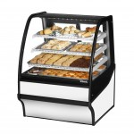 TRUE TDM-DC-36-GE/GE-W-W Non-Refrigerated Bakery Display Case