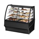 TRUE TDM-DZ-48-GE/GE-B-W Dry / Refrigerated Bakery Display Case