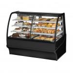 TRUE TDM-DZ-59-GE/GE-B-W Dry / Refrigerated Bakery Display Case