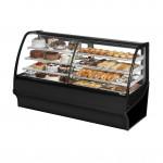 TRUE TDM-DZ-77-GE/GE-B-W Dry / Refrigerated Bakery Display Case