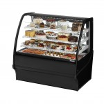 TRUE TDM-R-48-GE/GE-B-W Refrigerated Bakery Display Case