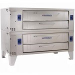 Bakers Pride Y-802BL Pizza Deck Oven, Gas – 66″ W