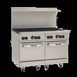 Vulcan 48SS-8B Range 48″, Double Standard Oven, Gas