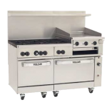 Vulcan 60SC-6B24GB Range 60″, Convection and Standard Oven, Gas