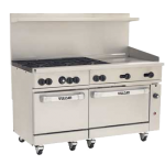 Vulcan 60SC-6B24GT Range 60″, Convection and Standard Oven, Gas