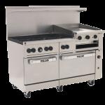 Vulcan 60SS-6B24GB Range 60″, Double Standard Oven, Gas