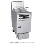 Pitco SG18S-1FD Fryer, 70-90 LB, Gas