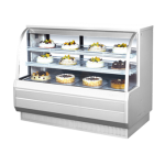 Turbo Air TCGB-60-CO Dry / Refrigerated Bakery Display Case