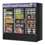 TURBO AIR TGF-72FB Freezer Merchandiser