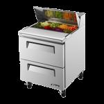 TURBO AIR TST-28SD-D2 Sandwich-Salad Prep Table, DELUXE