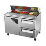 TURBO AIR TST-48SD-D2 Sandwich-Salad Prep Table, DELUXE