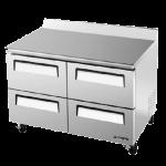 TURBO AIR TWF-48SD-D4 Work Top Freezer