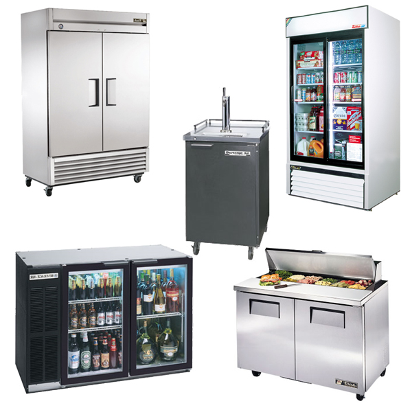 Coolers, Freezers, Prep Tables