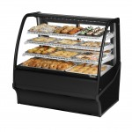 TRUE TDM-DC-48-GE/GE-B-W Non-Refrigerated Bakery Display Case