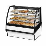 TRUE TDM-DC-48-GE/GE-W-W Non-Refrigerated Bakery Display Case