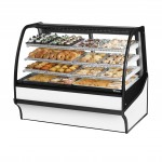 TRUE TDM-DC-59-GE/GE-W-W Non-Refrigerated Bakery Display Case