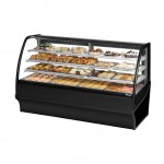 TRUE TDM-DC-77-GE/GE-B-W Non-Refrigerated Bakery Display Case