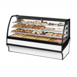 TRUE TDM-DC-77-GE/GE-W-W Non-Refrigerated Bakery Display Case