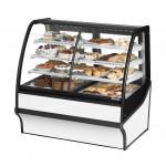 TRUE TDM-DZ-48-GE/GE-W-W Dry / Refrigerated Bakery Display Case