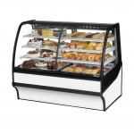 TRUE TDM-DZ-59-GE/GE-W-W Dry / Refrigerated Bakery Display Case
