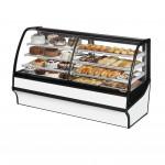 TRUE TDM-DZ-77-GE/GE-W-W Dry / Refrigerated Bakery Display Case