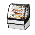 TRUE TDM-R-36-GE/GE-W-W Refrigerated Bakery Display Case