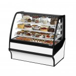 TRUE TDM-R-48-GE/GE-W-W Refrigerated Bakery Display Case