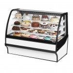 TRUE TDM-R-59-GE/GE-W-W Refrigerated Bakery Display Case