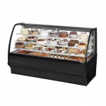 TRUE TDM-R-77-GE/GE-B-W Refrigerated Bakery Display Case