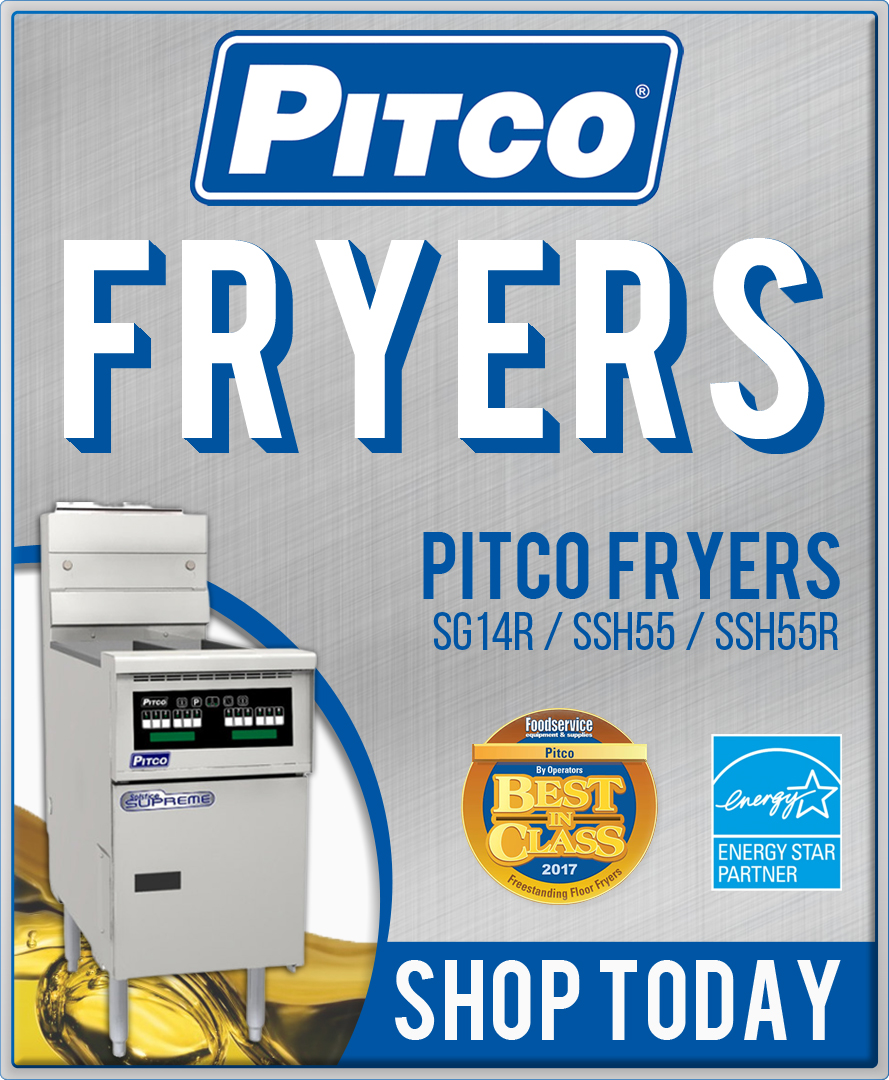 Pitco Fryers Shop Now